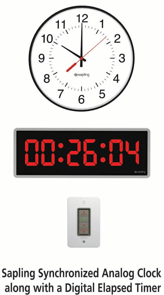 Elapsed Timer with Analog Clock