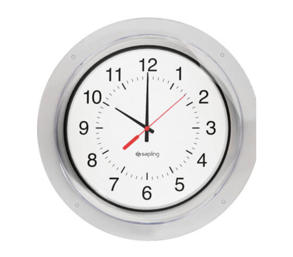 Clear Protective Clock Covers