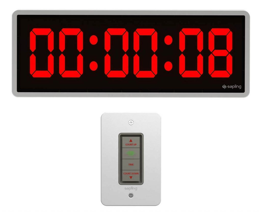Sapling 406 Countdown with 4 Button Elapsed Timer