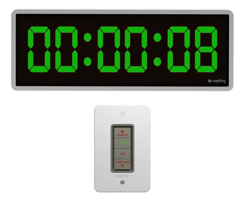 Sapling 406 Countdown with 4 Button Elapsed Timer H