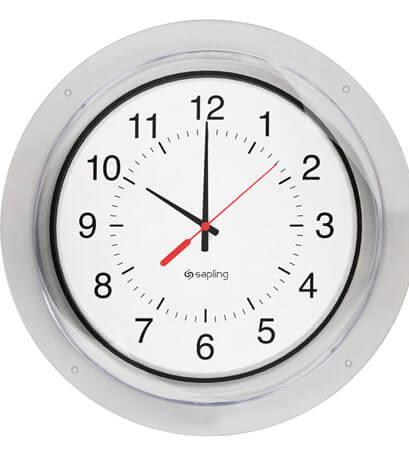 Sapling Protective Clock Cover for Analog Clocks