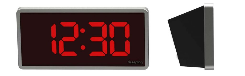 Sapling 404 Wall Mount Red with Side View 1230 H