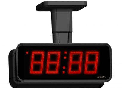Sapling Large Digital Clock 4 Digit Red