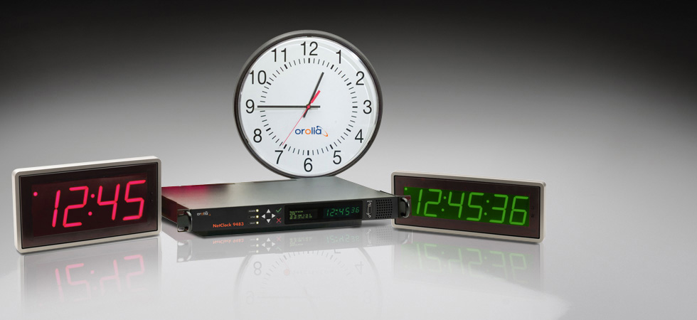 IP/PoE NTP Synchronized Clock System