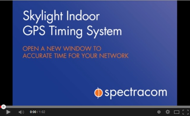 Spectracom SecureSync Indoor GPA NTP Skylight System Video