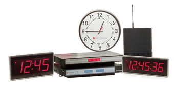 Spectracom WiSync Wireless Display Clocks